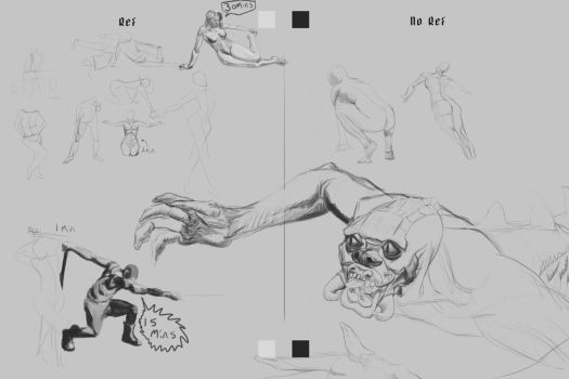 Gesture Sheet 6 - 2mins plus others by lewislong