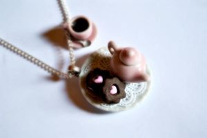 Miniature Food Necklace by Alusaf
