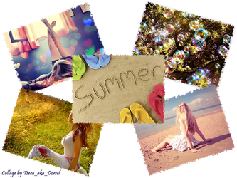 Summer Collage by Tsera-aka-Dorsel