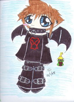 Demon Sora by Flareness
