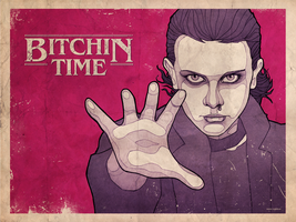 Stranger Things 2 - Bitchin time by RUGIDOart
