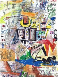 Abstract Collage - 2008 by Nails43