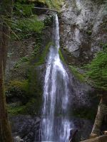 Marymere Falls by chamberstock