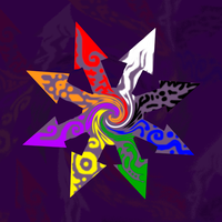 Psychedelic Chaos Sigil by AntonChanning