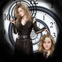 Hermione hypnotized by Bellatrix by theeyeshavehills
