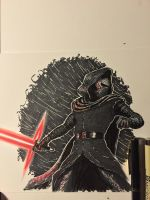 Kylo Ren by amonkeyonacid