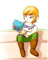Break time - A gift for link-leob by KrisCG