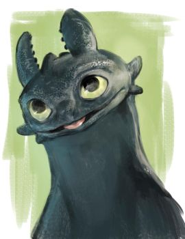 Toothless by kzver