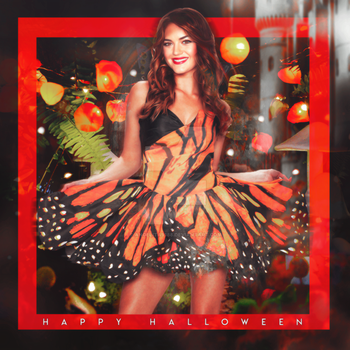Lucy Hale - Halloween costume by Angelita9188