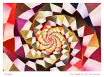 Harlequin - Which Path Should I Take? by aartika-fractal-art