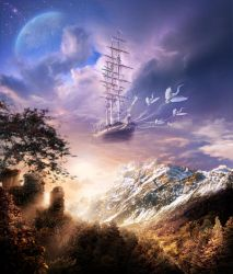 Take me, the ship of my dreams by Osokin