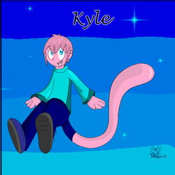Request: Kyle Pokemorph Mew by Void-Shark