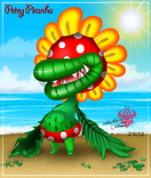 :.Petey Piranha.: by Bowser2Queen