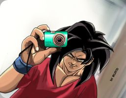 Vegetto: Goku - Cam Lover DBGT DBZ by vegetto-vegito