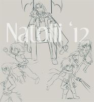 WIP - Disgaea sketches by Natolii