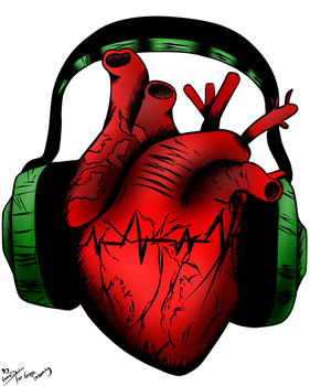 I Heart Music by Vampire-Minded