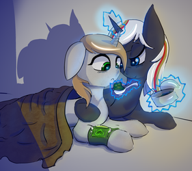 Littlepip und Velvet Remedy by Mistleinn