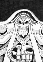 Overlord - Ainz Ooal Gown by OminousRain