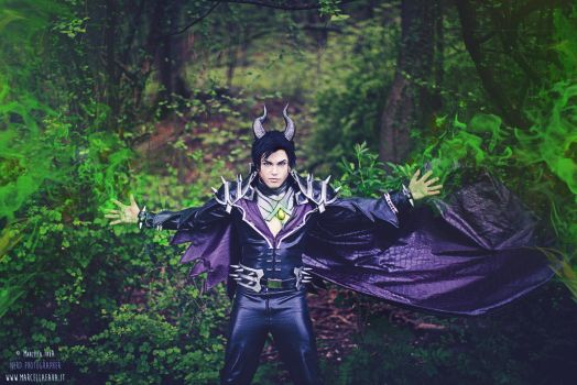 Maleficent Genderbend Cosplay by hakucosplay
