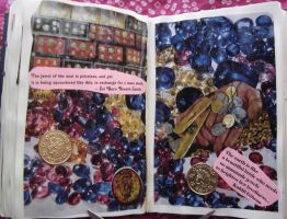 1st Altered Book 29, Favorites by angelstar22