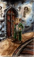 In the subsoils of Gringotts by Cleox