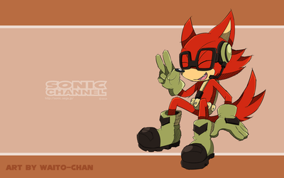 Sonic Channel: Rookie by WaitoChan