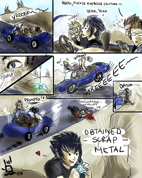 FFXV - Seatbelts Not Included by ChicaChapa