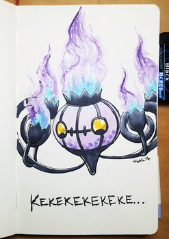 160320 Chandelure Is Love by fablefire