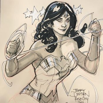 Wonder Woman RCCC 2016 by TerryDodson
