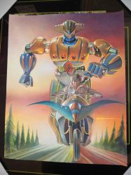 Pic of Finished JEEG STEEL Robot by Gedamo