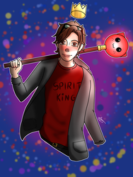 Request- The Spirit King by Captain-Iron-Pencil