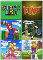Super Link - The Legend of Peach by Gabasonian