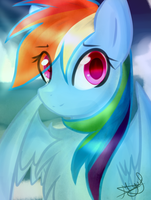 DTA| Rainbow Dash by KrystalChaser