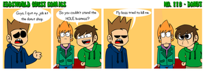 EWGUESTCOMIC No. 110 - Donut by SuperSmash3DS
