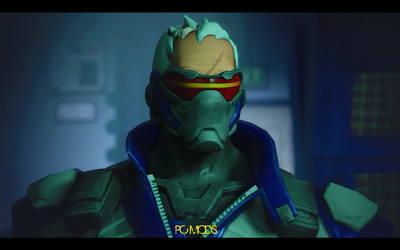 Soldier 76 (Overwatch) requested by SIEGFRIED129 by THEJAMK
