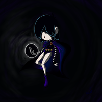 Lucy Loud - Suffused in Darkness by zRei
