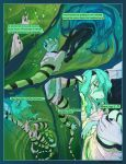 Asteria Six: Page 4. by The-SixthLeafClover