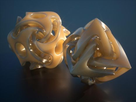 Octane plastics and funky shapes by davidbrinnen