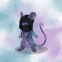 Galaxy mouse by avanicaa