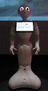 Pepper Robot talking to you by Bernard58