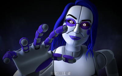 Stylised Ballora v3 by HeroGollum