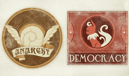 Anarchy and Democracy by chicinlicin