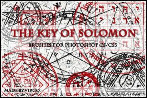 The Key of Solomon Brushes by virgothedreamer