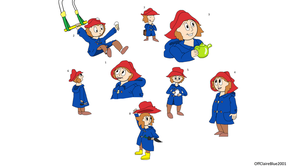Humanised Paddington Bear by OffClaireBlue2001