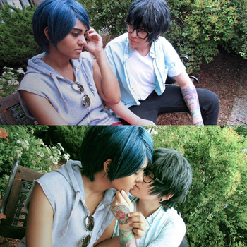 Persona 5 cosplay - Spending more time with Yusuke by Neokillerqc