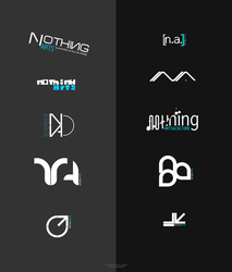Nothing Arts Logos by ADAgroup