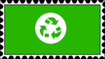 Recycle Stamp by RedqueenAllison