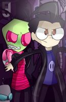 Invader Zim.- He isn't an alien! by yusunaby