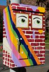 Public Artwork - Elmwood Mural by Kyle-Lefort