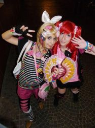 Rin and Teto - Decora style by ViviVampyre